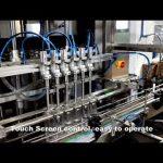 automatik 6 koka që shpërndajnë linjën e makinës mbushëse të lëngut të klorit larës