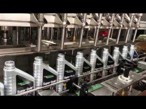 linja e plotë e pajisjeve mbushëse të vajit të vajit lubrifikues të pistonit