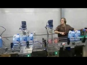pastrues automatik pastrues tualeti anti-korroziv linjë makine mbushëse të lëngshme për zbardhuesin