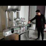 makinë mbushëse kozmetike, makina automatike e mbushjes së pistonit të makinës për mbushje të lëngshme të sapunit