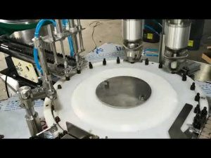makinë automatike për mbushje vaji esencial të vëllimit të plotë të plotë