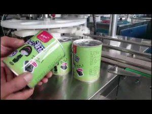makine e plotë automatike për mbushjen e shisheve të lëngshme me kapper