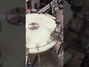 makine automatike për mbushjen dhe locionin locion për shishe