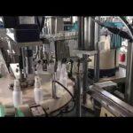 makinë mbushëse e lëngshme sanitizer, makina mbushëse e dezinfektuesve etanol