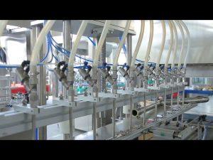 makina mbushëse e shisheve të alkoolit të sapunit të lëngshëm dezinfektues