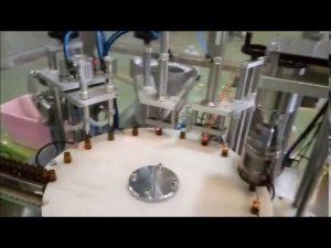 automatik e mbushur shishen e mbushur me shishe 10ml që bashkohet me makinën e mbulimit
