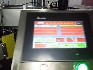 makinë automatike për shtypjen e etiketave të kompjuterizuar rrokulliset makinën e etiketave qese plastike