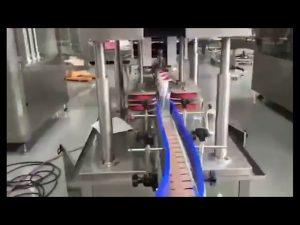makina mbushëse automatike e mbushjes së pistonit të sanitizerit të xhelit për larje automatike