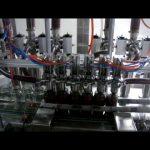 automatike lineare 4 koka pistoni shishe me koshtë viskoz salcë makine mbushëse të lëngshme