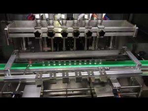 makine mbushëse automatike e xhelit sanitizer për industri kimike të përditshme