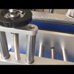 ngjitje e etiketës së dyfishtë të makinës automatike për etiketimin e shisheve të rrumbullakëta