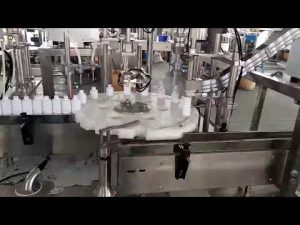 kozmetikë aparat mjekësor që mbush mbushjen e shisheve plastike