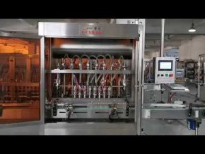 makinë automatike për mbushje salcë domatesh të plotë