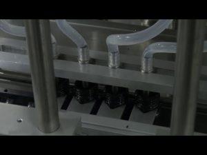 Makinë mbushëse e saktë e lëngshme automatike e desktopit 10 ml-5l 6 kokë