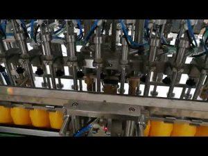12 koka automatike për mbushjen e shisheve për salcë kozmetike me vajra ketchup