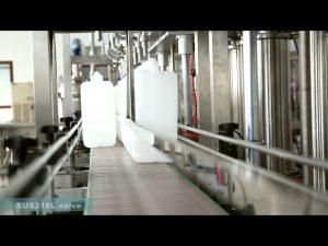 makinë automatike për mbushjen e vajit të lubrifikantit që mbush etiketimin
