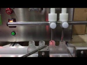 makine me madhësi mini e lartë për shitje automatike mbushëse të lëngshme vaji esencial shishkë