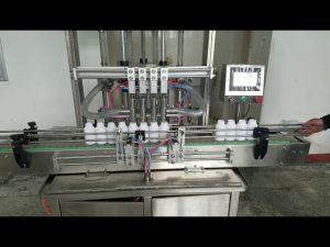 makinë mbushëse automatike për shishe paste të lëngshme viskoze për sapun të lëngshëm, locion trupi, shampo