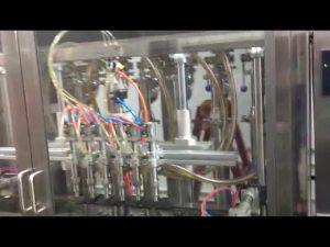 shishe qelqi automatik makina mbushëse e vajit të ullirit