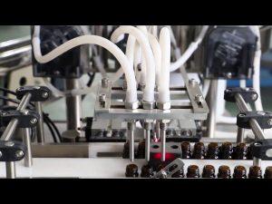 Makinë mbushëse dhe mbuluese e vajit të ullirit 120ml