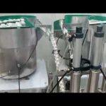 15ml pika 30ml e syrit, makina kapëse për mbushjen e shisheve të qelqit të naftës cbd