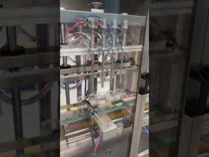 makine automatike për mbushjen e shisheve të parfumeve, makina mbushëse e lëngshme me çmim
