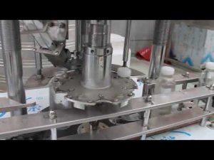 makinë automatike me kapak rrotullues automatik për shishe plastike me kokë të vetme