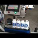 makinë ngjitëse automatike e rrumbullakët makineri etiketimi