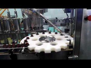 makina mbushëse dhe nënshkrimi e vajit të rrjedhës së acidit hidroklorik hdpe